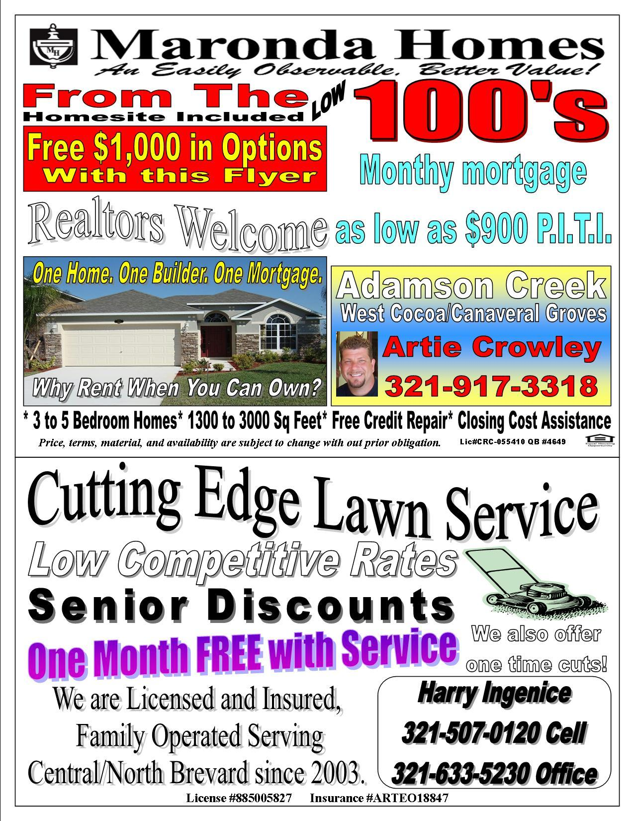 lawn service advertising - Holala