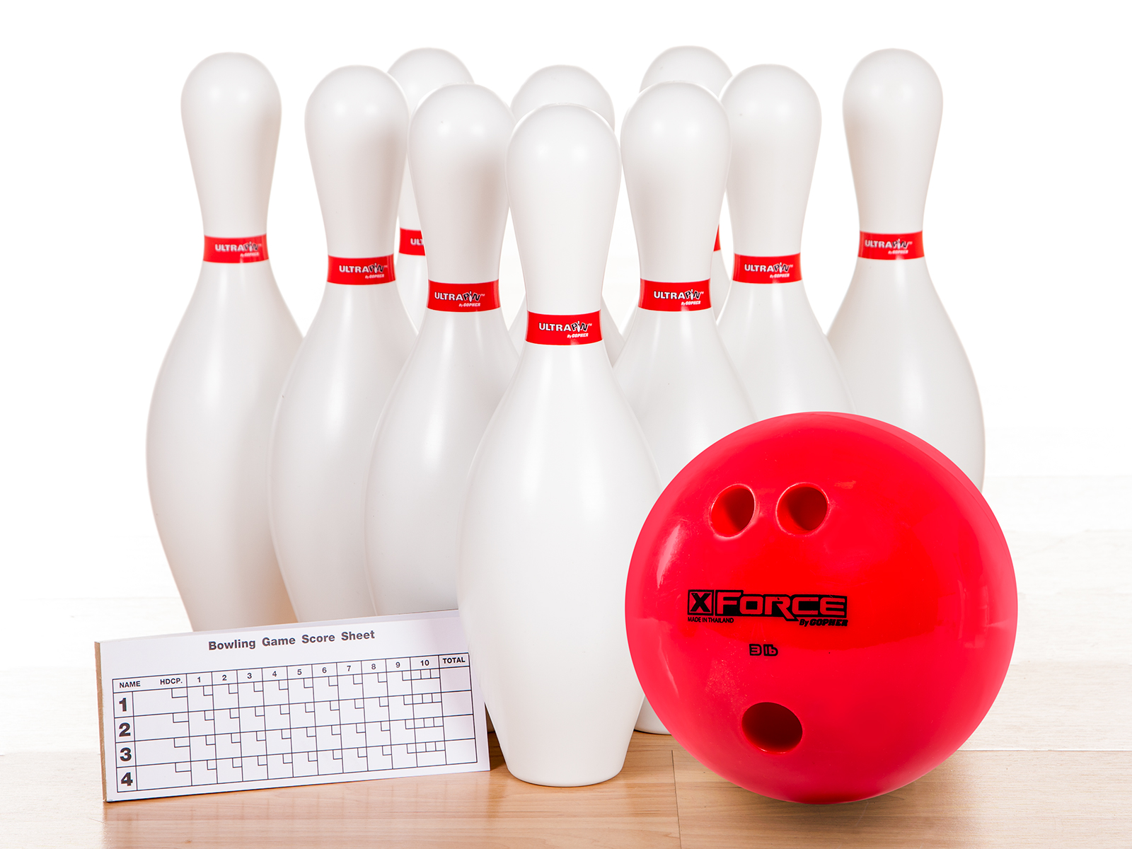 Weighted, 3 Lb Ball, Deluxe Set