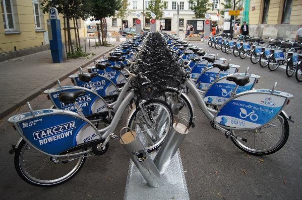 В Варшаве открылся новый велосипедный сезон с Veturilo