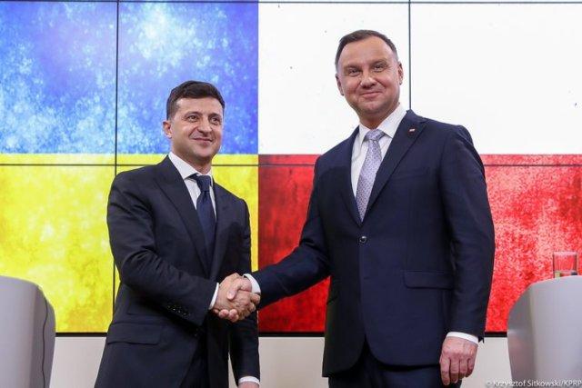 Президент Анджей Дуда зустрівся з президентом Володимиром Зеленським
