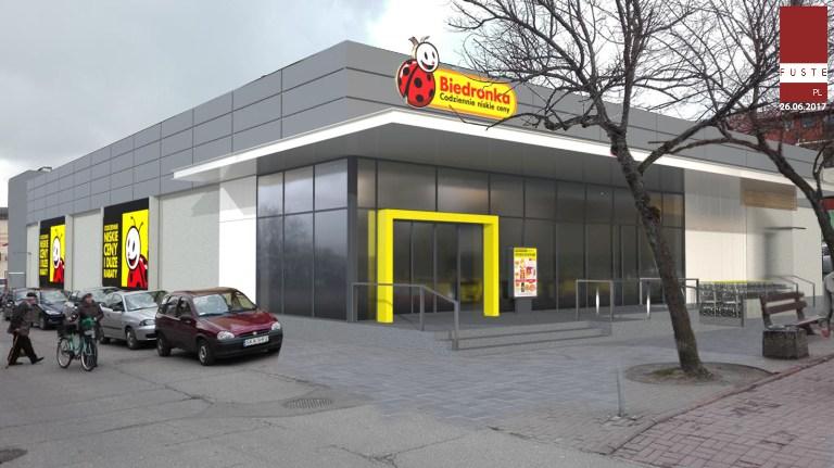 Як припаркуватися під Biedronka безкоштовно