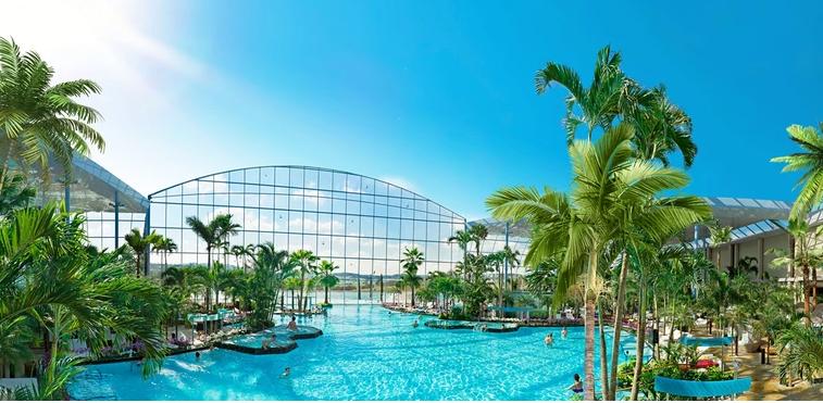 Найбільший аквапарк в Європі відкриється 20 лютого під Варшавою