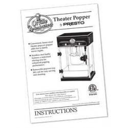 Parts and Accessories For Orville Redenbacher's® Theater