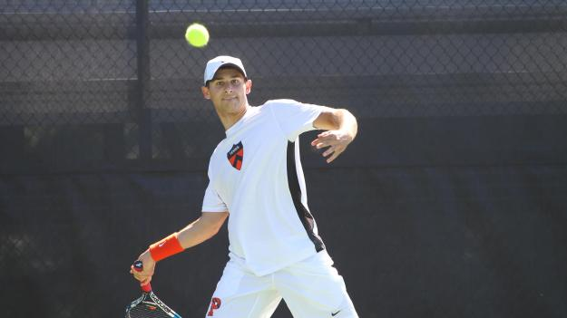 Wasserman's Win Clinches Men's Tennis Team's First Ivy Victory