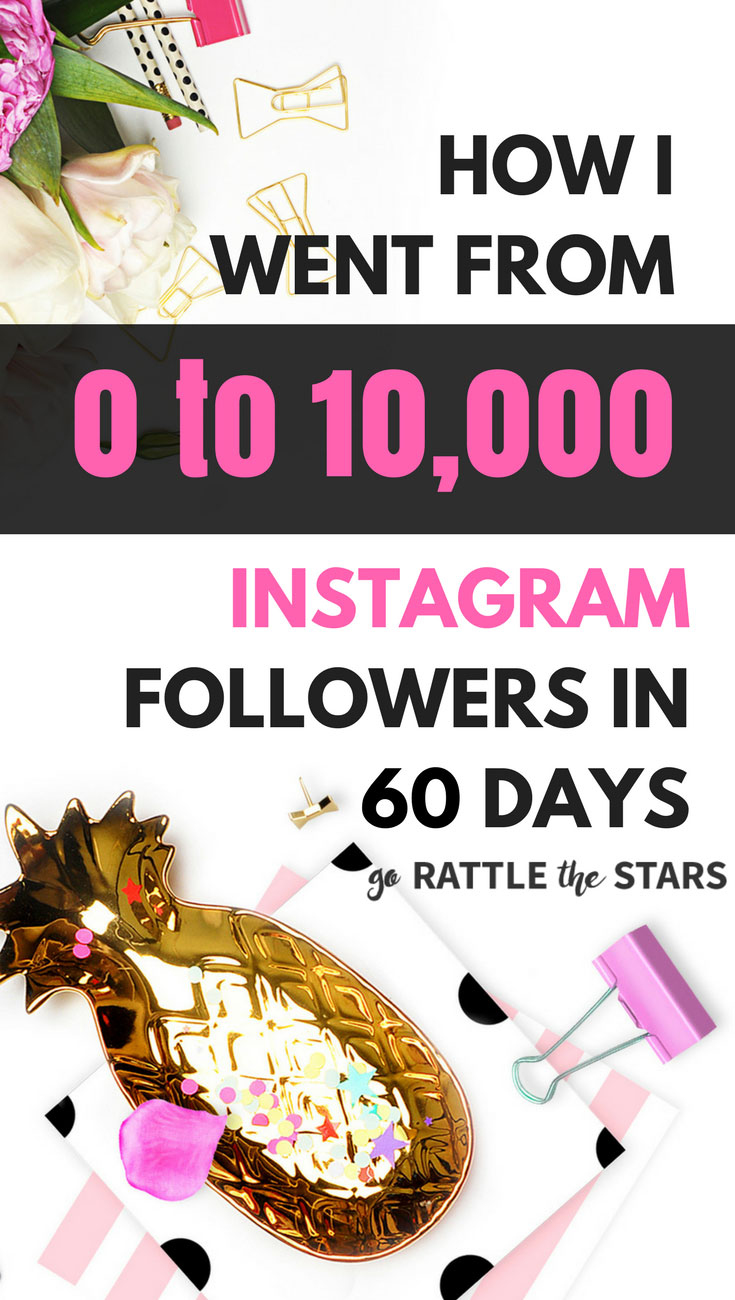 Case Study: How To Get 10K Followers On Instagram