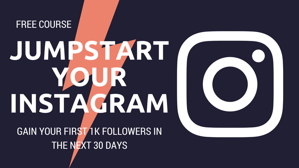 Want to grow your Instagram audience and make money doing it? In this free Instagram course you'll learn how to quickly and authentically grow your Instagram to 1,0000 followers using the same step-by-step system I used to grow my account of to 10k in 90 days.