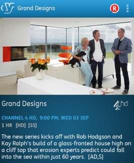 Grand Designs | 03-09-2014 (YouView app)