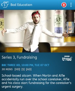 Bad Education - 07-10-2014 (YouView app)