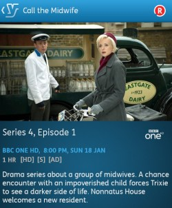 Call The Midwife - 18-01-2015 (YouView app)