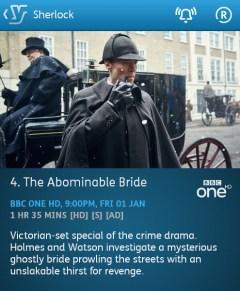 Sherlock - 01-01-2016 - YouView app