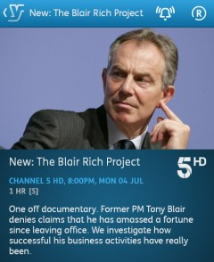 The Blair Rich Project - 04-07-2016 - YouView app