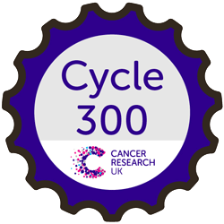Cycle 300 with Cancer Research UK
