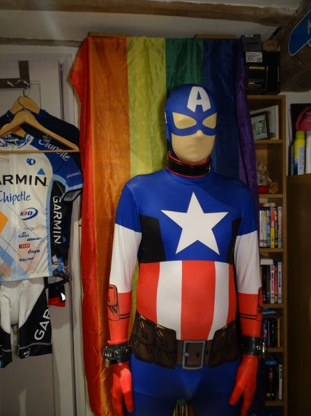 Captain America Morphsuit