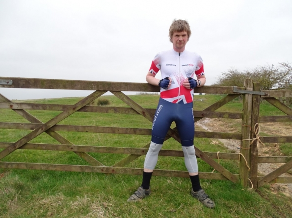 Hunter inline skinsuit Team Britain 2018