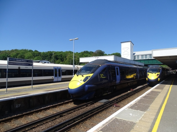 Class 395 at Dover Priory railway station