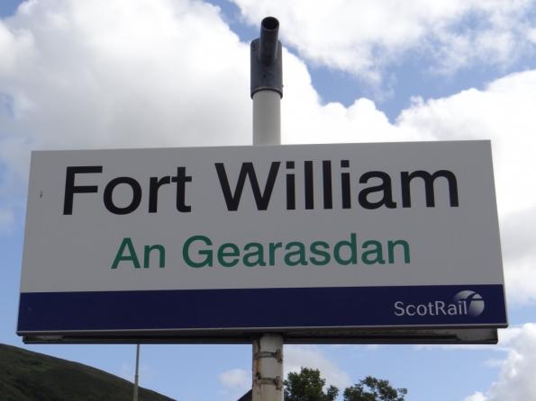 Fort William railway station