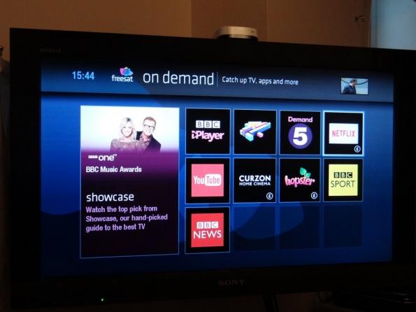 Netflix on Freesat Freetime