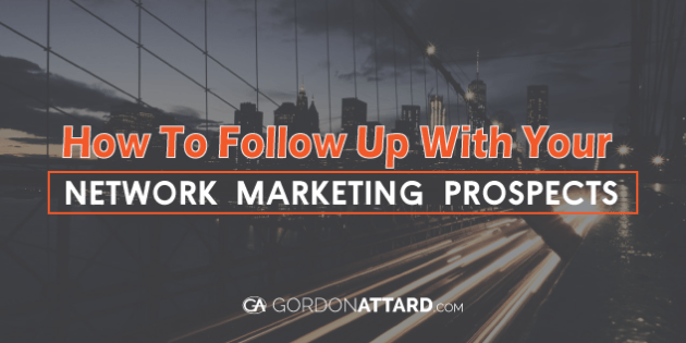 how to get prospects in network marketing