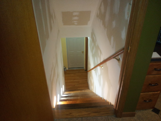 Gordon Drywall and Remodeling  Finishing Stairwell
