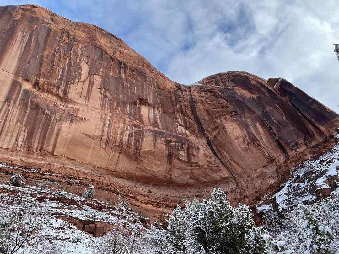 Canyon Walls looking overheard