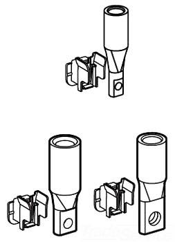 SQUARE D YA250J35 : CIRCUIT BREAKER COMPRESSION LUG KIT (3