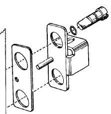 SQUARE D 3100806101 : MOTOR CONTROL ENCLOSURE DOOR LATCH