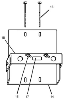 SQUARE D 3100431701 : ADJUSTMENT PLATE FOR CIRCUIT BREAKER