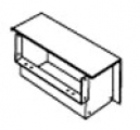 SQUARE D RWT06REE : WALL DUCT REVERSE EDGEWISE ELBOW W