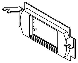 WALKER RFB4-LPB : RFB4 BRACKET W/LOW PROFILE BEZEL