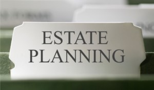 Estate planning folder