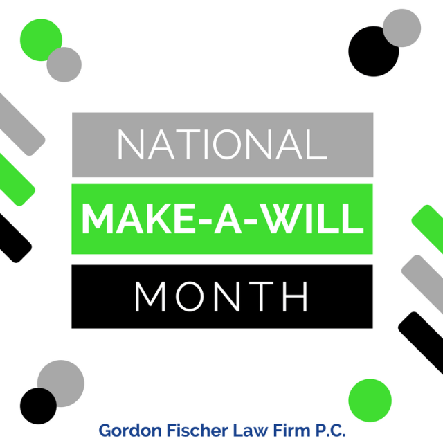 National Make-A-Will Month
