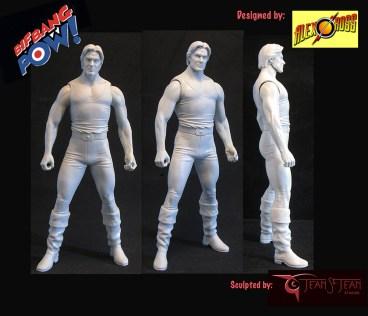 "Flash Gordon 7"" Figure Sculpt Rotation"