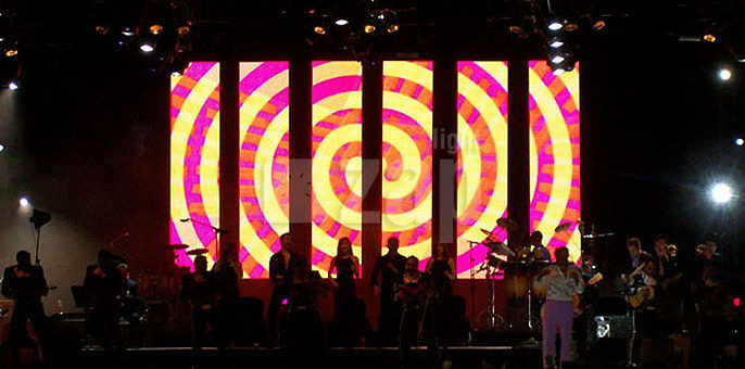 Gordon Lights LLC 1 214 884 5337 LED Curtain Rentals