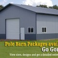 Pole barn package price quotes