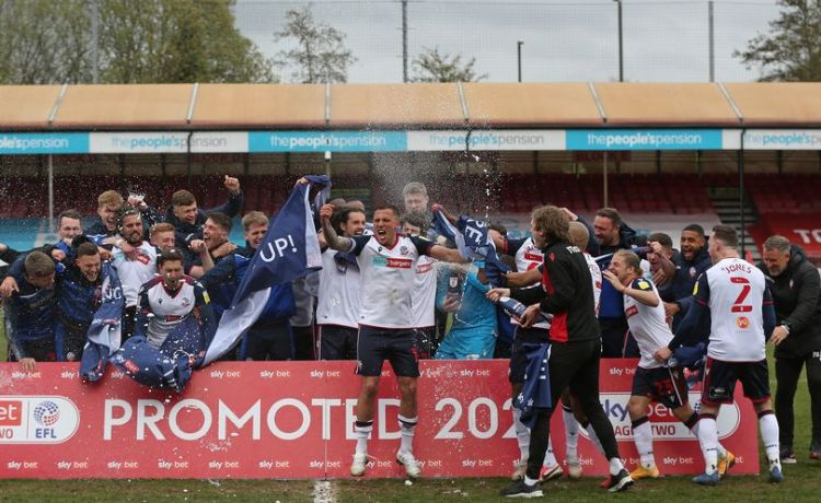 Congratulations to Bolton Wanderers