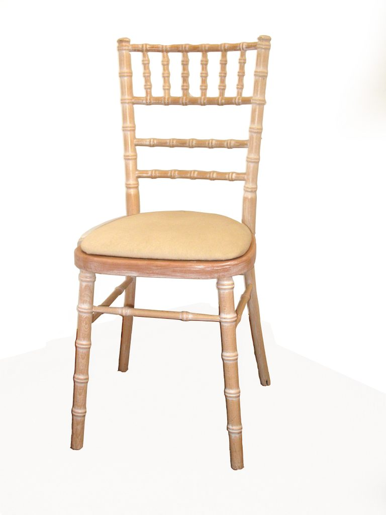 Ivory Chair Pad  Gordons Caterhire