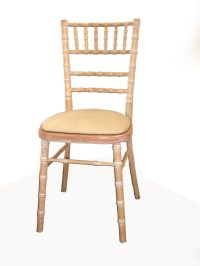 Ivory Chair Pad  Gordons Caterhire