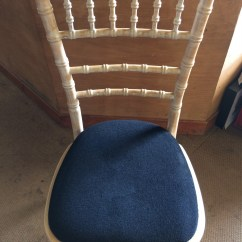 Black Chair Pads Wingback Recliner Pad  Gordons Caterhire