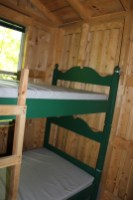 Camping cabins, manitoulin island, cedar wood,