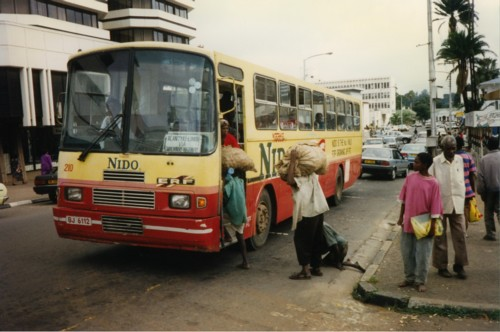 Blantyre, Malawi, a city in East Africa