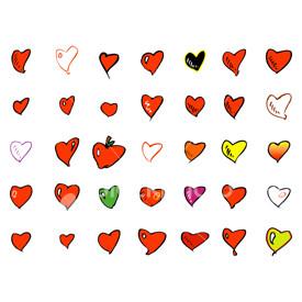 34 hearts