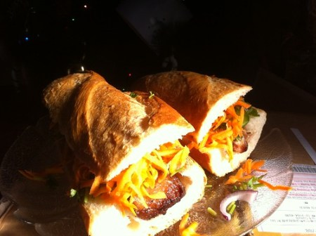 My first try at homemade banh mi.