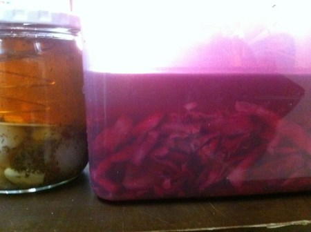 Both pickling projects.