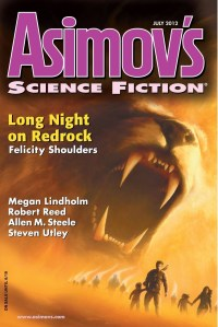 Asimov's July 2012 cover