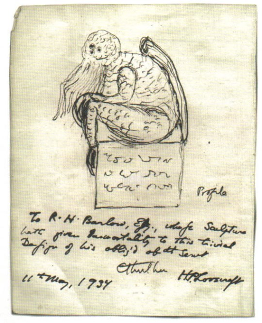 Cthulhu_sketch_by_Lovecraft