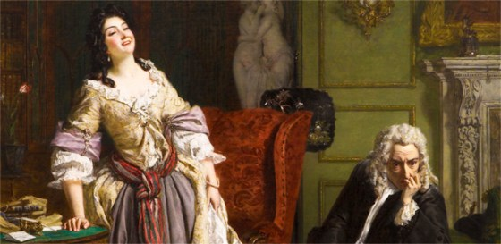 Pope Makes Love To Lady Mary Wortley Montagu – William Powell Frith (1852, oil on canvas) - See more at: http://misstransmission.co.uk/wonderful-women-of-history-lady-mary-wortley-montagu#sthash.QDPnDs73.dpuf