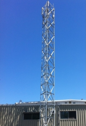 SelfSupport Towers  TriPole