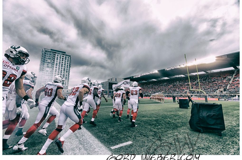 Ottawa Redblacks vs Winnipeg Blue Bombers Pre Season