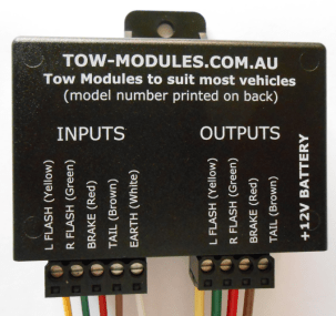 trailer light module fault wye delta control wiring diagram towing modules www tow com au