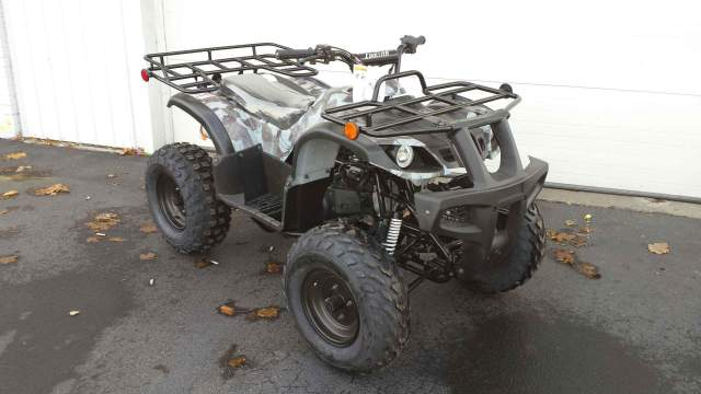 150cc Fully Auto ATV (Front View)